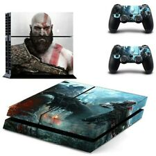 God of War PS4 Pro Skin Sticker For Sony PlayStation 4 Console and 2 Controllers