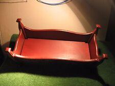 Wooden bed cradle