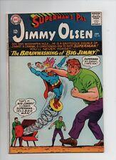 Superman's Pal Jimmy Olsen #90 - Brainwashing of Big Jimmy! - (Grade 6.5) 1966