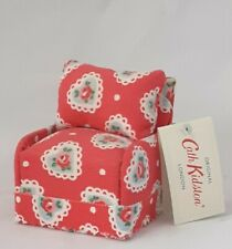 Cath Kidston London SweetHeart Red Ditsy Minature Arm Chair Pin Cushion NWT