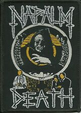 NAPALM DEATH-LIFE?-WOVEN PATCH-CLASSIC