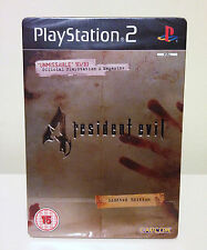 RESIDENT EVIL 4 (LIMITED EDITION) PS2 (PAL VERSION)