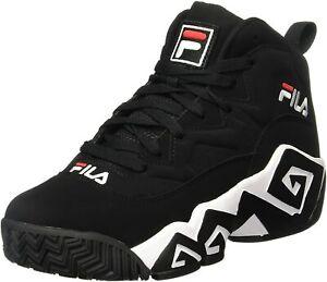 Men's Fila MB Black/White/Fila Red (1VB90140 014)