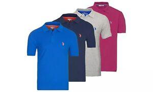 U.S. POLO Polo bequeme T-Shirt aus Baumwolle in der Farbe und Größe nach Wahl