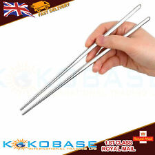 1-10 PAIRS STAINLESS STEEL METAL TWIST TRADITIONAL CHINESE CHOPSTICKS Home Gifts