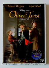 The Wonderful World of Disney Charles Dickens Oliver Twist Movie DVD Elijah Wood