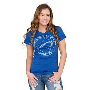 Pretty Little Liars Rosewood High School Sharks Blue T-shirt