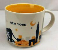 Starbucks 2015 NEW YORK You Are Here Collection 14 oz. Coffee Tea Mug Cup