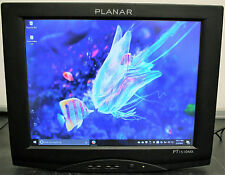"Planar 15"" PT1510MX Blk LCD Touchscreen Monitor Built-in Speakers NO STAND no PS"