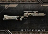 Star Wars Galactic Files (2018) SUPER WEAPONS Insert W-5 / EE-3 BLASTER RIFLE