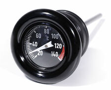 Öltemperatur Mess Peilstab schwarz Celsius für Harley-Davidson Softail Sportster