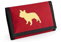French Bulldog Gift Wallet Rip-Stop Choice of Colours Purse Birthday Mothers Day