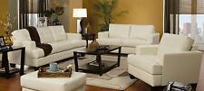 Coaster Furniture 501691 692 693 Samuel 3 Pc Living Room Set In Cream
