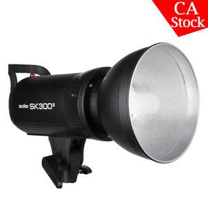 US Godox SK300II 2.4G 300w Photography Studio Flash Strobe Lamp Light Head 110V