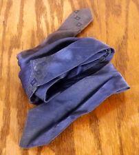 "vtg 40s 50s Resisto Replica Blue Eames Design Rayon Skinny Tie blue 57"" 2"""