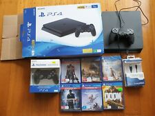 Sony PlayStation 4 1TB Console - Jet Black plus 2 Controller + 6 games