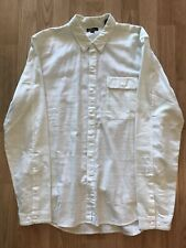 Levi's California One Pocket Button Front Flannel Oxford Size Medium