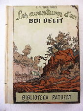 Biblioteca Patufet,Aventures d´en Boi Delit,Jª Maria Folch i Torres y Junceda