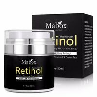 Mabox 50ml Retinol 2.5%Moisturizer Face Cream Hyaluronic Acid Anti Wrinkle Remov