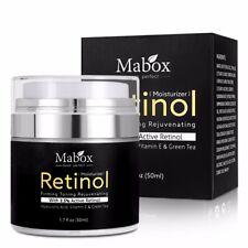 Mabox 50ml Retinol 2.5%Moisturizer Face Cream Hyaluronic Acid Anti Wrinkle Remov