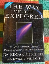 Dr. Edgar Mitchell Astronaut 6th Moonwalker Signed Auto Autographed Book Rare