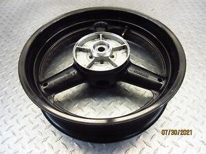 2006 05-09 Suzuki SV650 SV650S Rear Rim Wheel 17x4.50 Video Straight OEM
