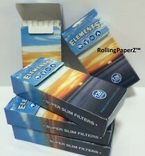 630 count Elements Super Slim Cigarette Filters (5 Boxes Of 126)