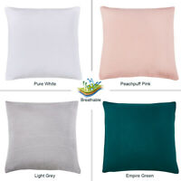 """PHF Cotton Matelasse Throw Pillow Sham Cover for Winter 2 Pack 26""""x 26"""" 4 colors"""