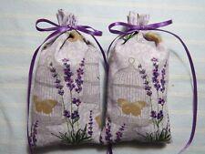 """Lavender 5""""X2"""" Sachet-'Lavender Linen' Fragrance-Handmade-Cindy's Loft-453"""