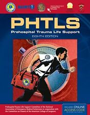 PHTLS: Prehospital Trauma Life Support, 8th Edition New Paperback Book National