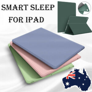 For iPad 7th 8th 6th 5th Gen 10.2 Air Pro 11 Case Cover Smart Flip Leather Shell