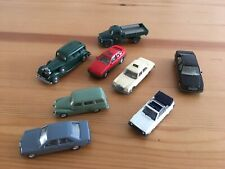 Lot Of 8 Wiking HO Scale Models For Your Collection Or Train Layout.