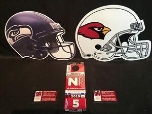 Arizona Cardinals v Seattle Seahawks Red NP North Preferred Lot Parking Pass Tix