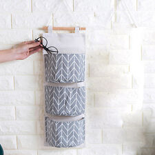 Wall Mounted 3 Bags Storage Bag Kitchen Supplies Fluid Systems Multilayer Bags