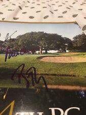 More details for 2002 uspga golf championship 84 programme signed rich beem david toms nick price