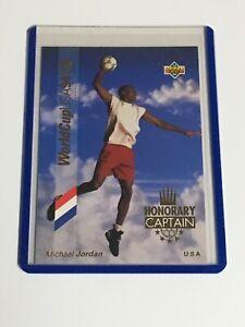 1993-94 Upper Deck World Cup USA Honorary Captain #HC3 Michael Jordan GOLD