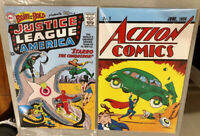 LOOT CRATE DC ACTION COMICS #1 + BRAVE AND BOLD #28 SET 1ST SUPERMAN JLA 1938