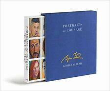 Portraits of Courage : A Commander in Chief's Tribute to America's Warriors by Laura Bush and George W. Bush (2017, Hardcover, Deluxe,Autographed)