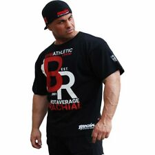 Brachial T-Shirt Athletic schwarz Bodybuilding Fitness