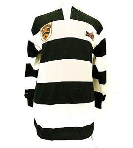 Barbarian Rugby Wear Tough Mudder Challenge Cotton Striped Shirt Sports Gear T75