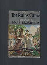 The Rains Came Louis Bromfield First Edition First Printing Book Into Film