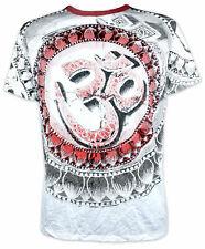 Weed señores t-shirt mandala om símbolo yoga Lotus Goa-party laursen camisa aom M L XL