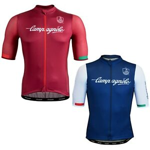 NEW OFFICIAL Campagnolo Iridio Summer Cycling Road Jersey Lightweight Race