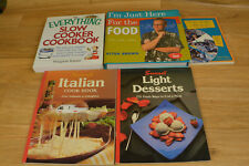 Cook Books Lot Of 5 Various Titles By Alton Brown Polly Pitchford Margaret Kaete