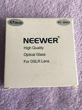 NEEWER Optical Netural Grey Gradual ND-Grads Filter for Camera Lens (67MM)
