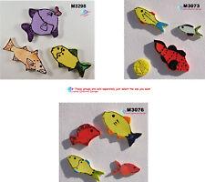 ASSORTED  FISH  - HANDMADE, CERAMIC MOSAIC TILES ( Pick you Group )#16