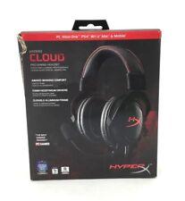 HyperX Cloud Headphones: Pro Gaming Headset Black/Red (AB44)