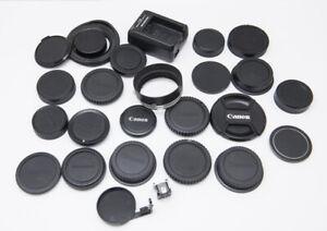 Canon Camera Body Caps rear lens caps Canon pentax 77mm 52mm s-60 60mm hood