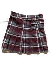 French Toast Brand Girl's Plaid Skort Size 8