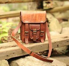 Men's Leather Crossbody Messenger Shoulder Bags Handbag Satchel Casual Day Bag